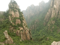 Huangshan China -- one of many inspirations for the movie Avatar
