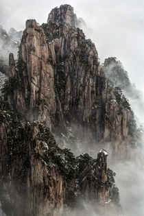 Huangshan Mountain China