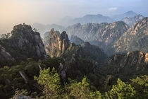Huangshan Mountains China  by Demis de Haan