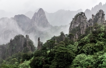 Huangshan Yellow Mountain Anhui Province China A Ming Dynasty saying says You dont need to see any more mountains after seeing the Five