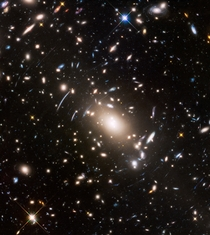 Hubble ACS image of the immense galaxy cluster Abell S