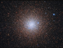 Hubble captures stars of the globular cluster NGC   light years away from the Milky Ways centre