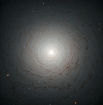 Hubble Image of the center of galaxy NGC
