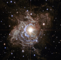 Hubble image of variable star RS Puppis