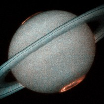 Hubble Saturns Aurora