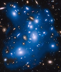 Hubble sees ghost light from dead galaxies in galaxy cluster Abell
