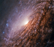 Hubble Sets Sights on a Galaxy with a Bright Heart