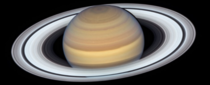 Hubble snapped this pic of Saturn at its closest approach to Earth this past June