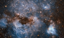 Hubble takes a glorious peek at the Large Magellanic Cloud our neighbor