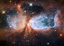 Hubble view of star-forming region S