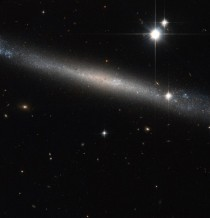 Hubble view of the Needle Galaxy