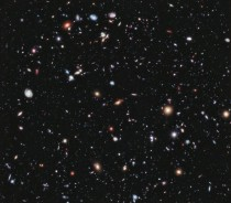 Hubbles Extreme Deep Field There are  galaxies in this single picture going back  billion years only  million years after the Big Bang Exposure time for this pic is  days