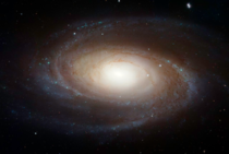 Hubbles image of Bodes Galaxy
