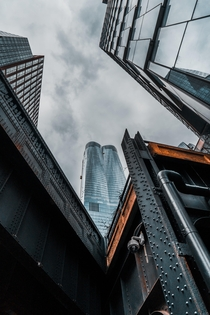 Hudson Yards - take a second and look up every once and a while Youll be amazed
