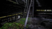 Huge abandoned smelting factory in Norway