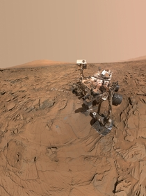 Huge Curiosity selfie