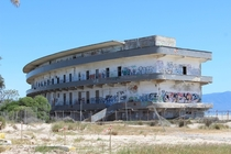 Huge hotel on the beach in Sardinia