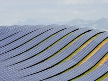 Huge Solar Photovoltaic Farm in France