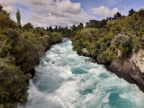 Huka falls wairakei New Zealand x resolution OC