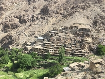 Hunderman Brok village Kargil India Abandoned since  Bombed extensively during  Kargil war