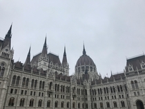 Hungarian Parliament Building Budapest Hungary By Imre Steindl