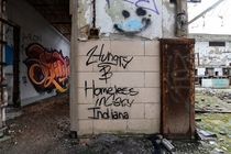 Hungry amp Homeless in Gary Indiana