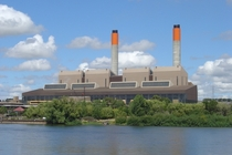 Huntly Thermal Power Station in New Zealand