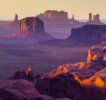 Hunts Mesa Monument Valley UtahArizona