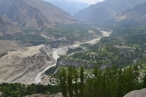 Hunza Valley Pakistan And Hunza River