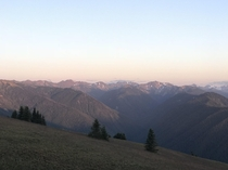 Hurricane Ridge Washington USA  One of the most beautiful states imo