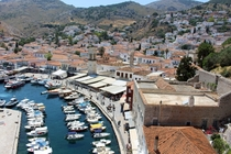 Hydra Town Greece