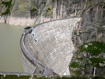 Hydroelectric Dam Grimsel Pass CH