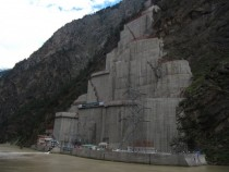 Hydroelectric powerplant Himachal Pradesh India