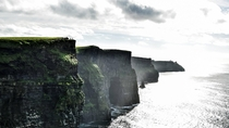 I also visited the Cliffs of Moher in Ireland on my first voyage across the Atlantic