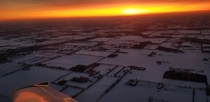 I am a flight instructor I love the awe in my students as I take them for their first sunset flight