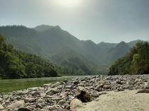 I am Traveling around India and this was taken after a long motorbike ride though the hills in Rishikesh OC