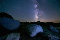 I am  years old and I love backpacking and Photography here is my photograph Milky Way Over Desolate Wilderness