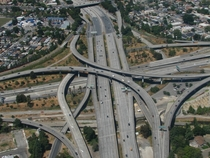 I- and SR  Interchange - San Jose California x-post from rAerialPorn