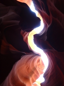 I can finally check Antelope Canyon AZ off my bucket list