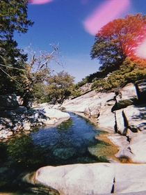 I captured this photo of Fonias Springs in the magical island of Samothraki North Greece Its after a km mountain hiking at about  meters altitude This place is like heaven on earth  If you love nature you have to visit this spectacular island