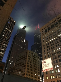 I caught Chicago Looking Extra Gotham