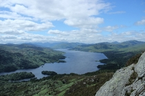 I climbed a mountain last summer and my reward was this view Ben Aan Scotland OC