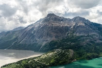 I climbed for two hours to see this beautiful view in Waterton Alberta