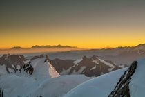 I climbed Mt Blanc in France and the sunrise brought me to tears