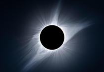 I combined  exposures to capture the suns corona during the total eclipse