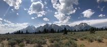 I could stare at these mountains forever Grand Teton National Park Wyoming US