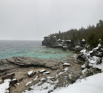 I couldnt have asked for better weather to hike in Bruce Peninsula National Park ON