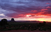 I dont consider myself anything more than an amateur photographer but this has to be one of my favorite shots - Monument Valley Utah
