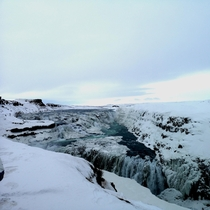 I dont normally post here because there are people who take real good photos and Im scared Hope you enjoy - Gullfoss waterfall iceland