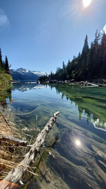 I enjoy clicking landscapes and this is my first post here Garibaldi Lake BC
